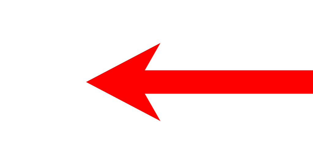 Short left arrow redsvg